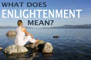 What does enlightenment mean