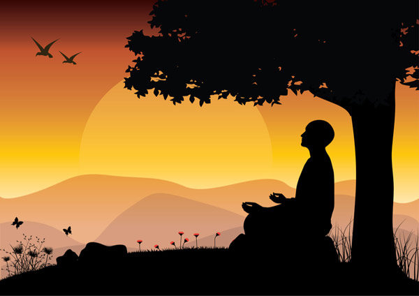 peace and happiness through meditation